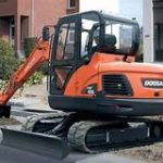 Doosan Track Excavator DX55 Service Repair Shop Manual