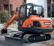 Doosan Track Excavator DX55 Service Repair Shop Manual
