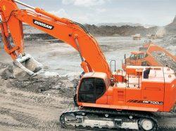 Deawoo Doosan DX700LC Excavator Service Repair Shop Manual
