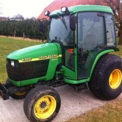 John Deere 4200 4300 4400 Compact Tractor Service Repair Manual