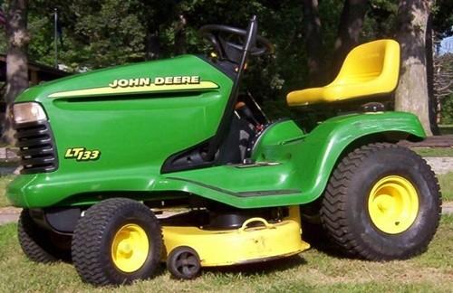 John Deere Lt133 Lt155 Lt166 Lawn Tractor Service Repair Manual