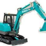 Kobelco Sk60V Hydraulic Crawler Excavator and Isuzu Industrial Diesel Engine 4JA1 4JB1 4JC1 WSM