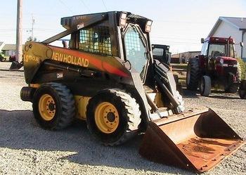 New Holland Skid Steer Loader Ls190b Workshop Service Repair
